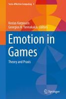 Emotion in Games PDF
