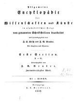 Allgemeine Encyklopädie der Wissenschaften und Künste: in alphabetischer Folge. ¬Section ¬1, A - G ; Theil 32, Ei - Eisen. 1,32