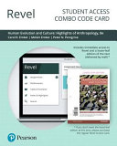 Revel for Human Evolution and Culture Access Card PDF