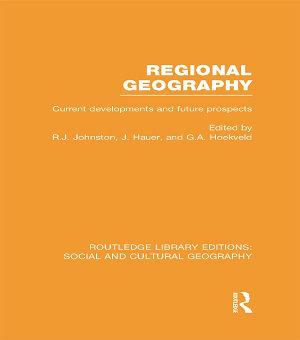 Regional Geography  RLE Social   Cultural Geography  PDF