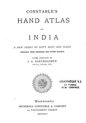 Constable s Hand Atlas of India     PDF