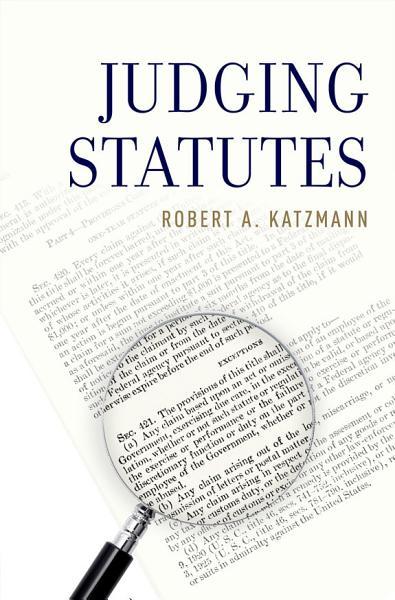 Download Judging Statutes Book