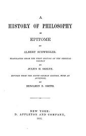 A History of Philosophy in Epitome