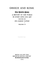 The world's story: a history of the world in story, song and art, Volume 4