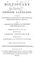 A Dictionary of the English Language     Abstracted from the folio edition     The tenth edition PDF