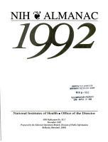 NIH Almanac PDF