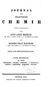 Journal für praktische Chemie: Band 32