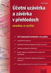 Účetní uzávěrka a závěrka v přehledech: snadno a rychle