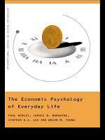 The Economic Psychology of Everyday Life PDF