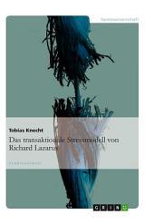 Das transaktionale Stressmodell von Richard Lazarus