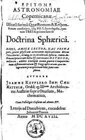 Epitome astronomiae copernicanae