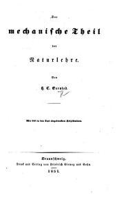 Der mechanische Theil der Naturlehre ... Mit 248 ... Holzschnitten