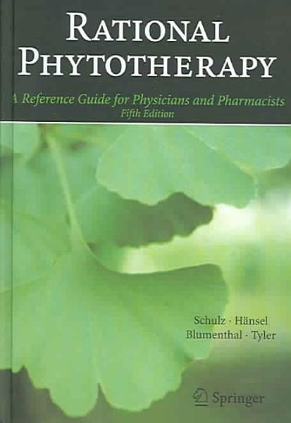 Rational Phytotherapy PDF