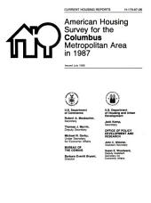 Current housing reports: American housing survey for the Houston metropolitan area in ..., Issue 26