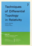 Techniques of Differential Topology in Relativity
