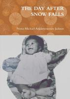 THE DAY AFTER SNOW FALLS PDF