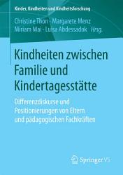 Diversity In Der Kindheitsp Dagogik Und Familienbildung
