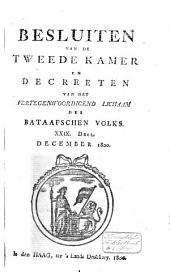 Besluiten van de Tweede Kamer en decreeten van het Vertegenwoordigend Lichaam des Bataafschen Volks: Volume 32