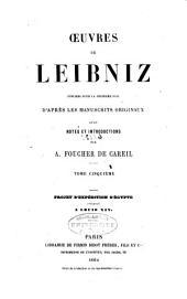 Œuvres de Leibniz: Volume5