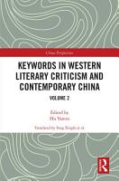 Keywords in Western Literary Criticism and Contemporary China PDF