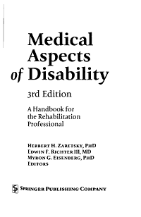 Medical Aspects of Disability PDF