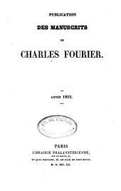 Publication de ses manuscrits: Volume2