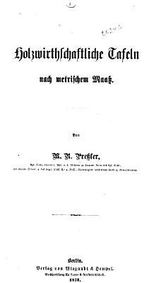 Lehrbuch der Holzmesskunst PDF