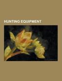Hunting Equipment PDF