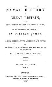The naval history of Great Britain: from the declaration of war by France in 1793 to the accession of George IV