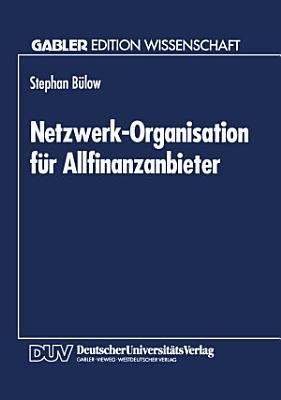 Netzwerk Organisation f  r Allfinanzanbieter PDF