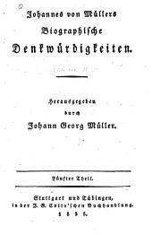 Johannes von Müllers sämmtliche Werke: Volumes33à34