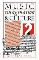 Music  Imagination  and Culture PDF