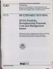 Multifamily Housing: Effects of HUD's Portfolio Reengineering Proposal