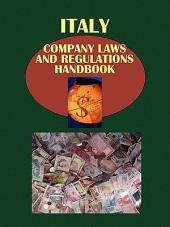 Italy Company Law and Regulations Handbook - Strategic Information and Basic Regulations