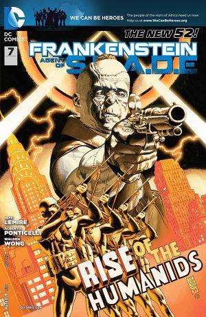Frankenstein  Agent of SHADE  2012    7