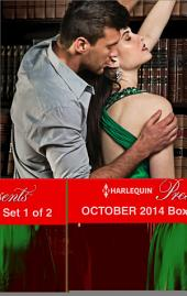 Harlequin Presents October 2014 - Box Set 1 of 2: Rival's Challenge\His for a Price\The Valquez Bride\Prince Hafiz's Only Vice