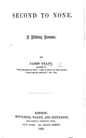 Second to None: A Military Romance