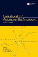 Handbook of Adhesive Technology PDF