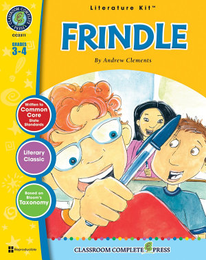 Frindle   Literature Kit Gr  3 4