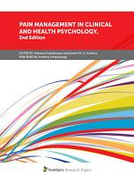 Pain Management in Clinical and Health Psychology, 2nd Edition