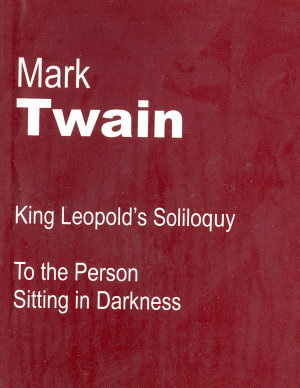 King Leopold s Soliloquy