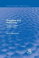 Populists and Patricians  Routledge Revivals  PDF
