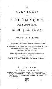 Les aventures de Télémaque: fils d'Ulysse ...