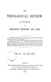 The Theological review [ed. by C. Beard].