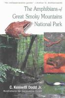 The Amphibians of Great Smoky Mountains National Park PDF