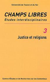 JUSTICE ET RELIGIONS