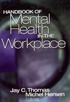 Handbook of Mental Health in the Workplace PDF