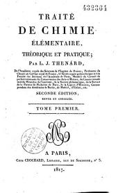 Traité de chimie élémentaire théorique et pratique