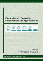 Electrophoretic Deposition  Fundamentals and Applications IV PDF