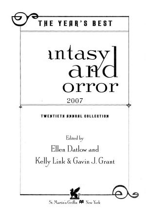 The Year s Best Fantasy and Horror 2007 PDF